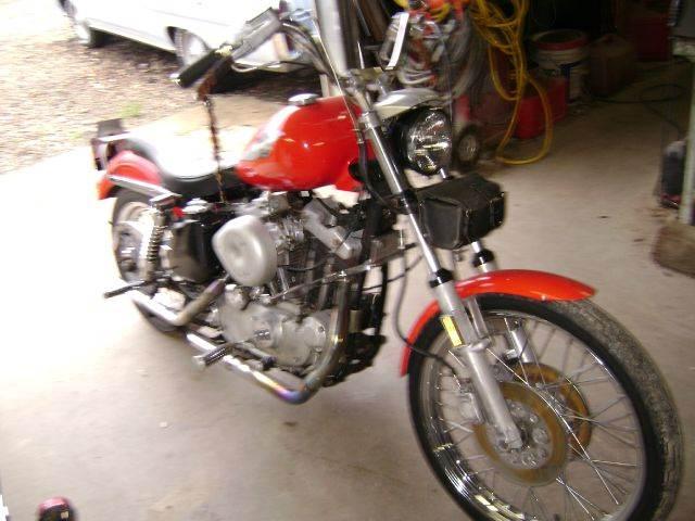 1974 Harley-Davidson Sportster for sale at Tom Boyd Motors in Texarkana TX