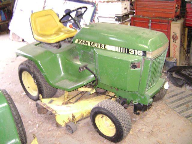 1986 John Deere 316 for sale at Tom Boyd Motors in Texarkana TX