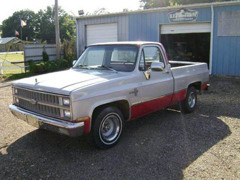 1982 Chevrolet C/K 10 Series for sale at Tom Boyd Motors in Texarkana TX