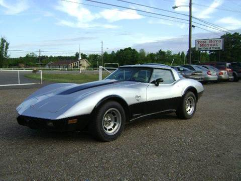 1978 Chevrolet Corvette for sale at Tom Boyd Motors in Texarkana TX