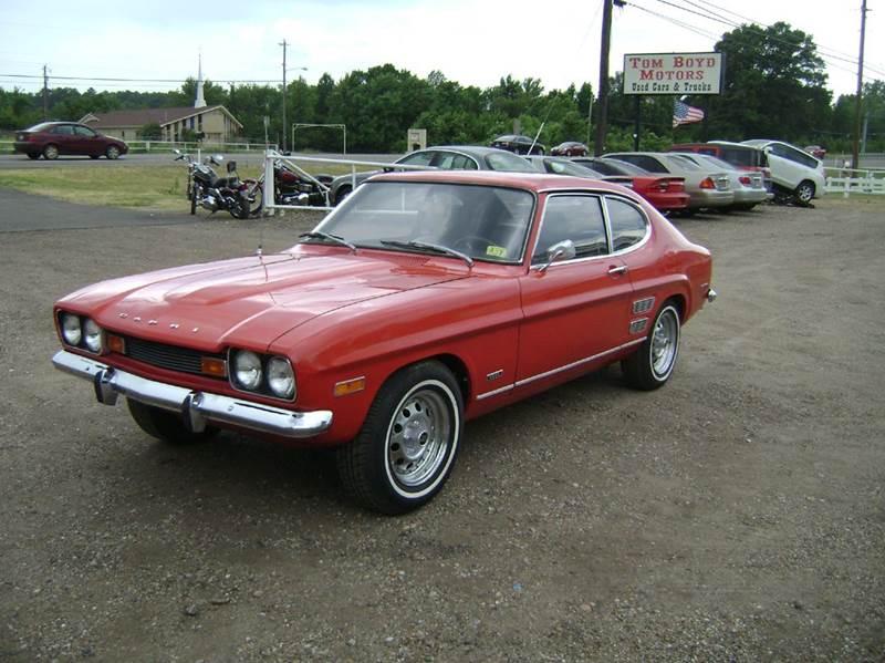 1971 Mercury Capri for sale at Tom Boyd Motors in Texarkana TX