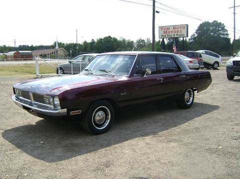 1970 Dodge Dart for sale at Tom Boyd Motors in Texarkana TX