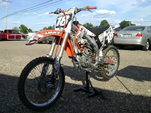 2003 Honda CRF 450 for sale at Tom Boyd Motors in Texarkana TX