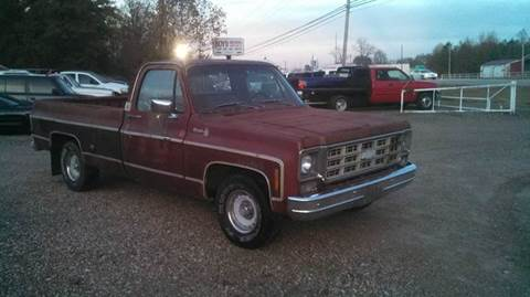 1977 Chevrolet C/K 10 Series for sale at Tom Boyd Motors in Texarkana TX