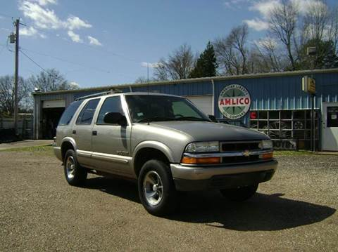 2002 Chevrolet Blazer for sale at Tom Boyd Motors in Texarkana TX