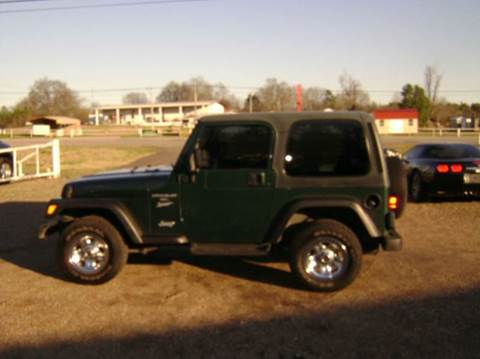 2001 Jeep Wrangler for sale at Tom Boyd Motors in Texarkana TX