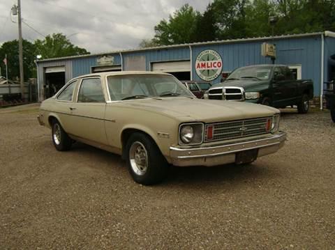 1975 Chevrolet Nova for sale at Tom Boyd Motors in Texarkana TX