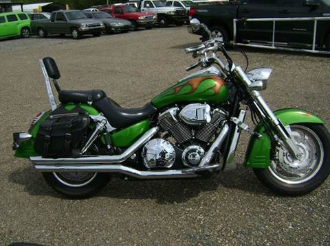 2005 Honda VTX  1800 for sale at Tom Boyd Motors in Texarkana TX