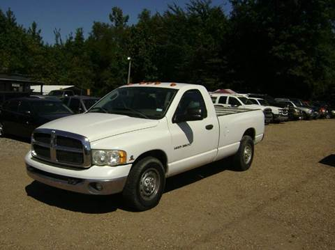 2003 Dodge Ram Pickup 2500 for sale at Tom Boyd Motors in Texarkana TX