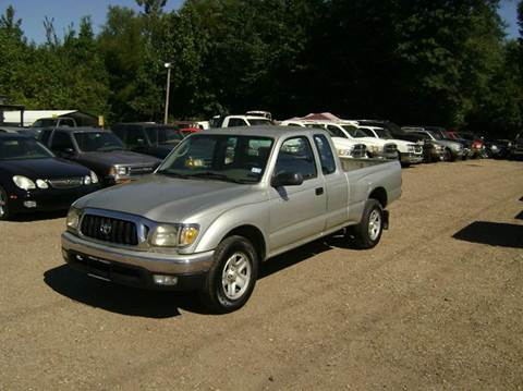 2001 Toyota Tacoma for sale at Tom Boyd Motors in Texarkana TX