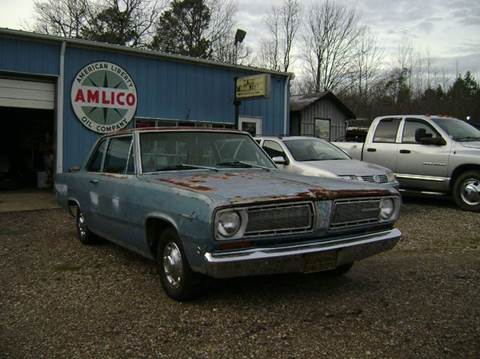 1968 Plymouth Valiant for sale at Tom Boyd Motors in Texarkana TX