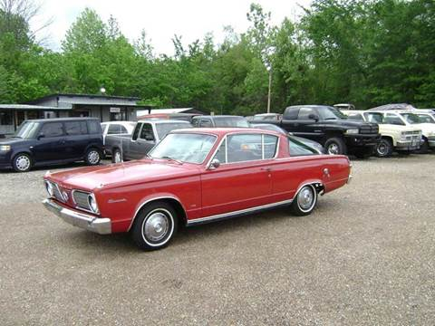 1966 Plymouth Barracuda for sale at Tom Boyd Motors in Texarkana TX