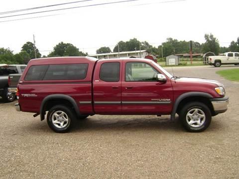 2000 Toyota Tundra for sale at Tom Boyd Motors in Texarkana TX