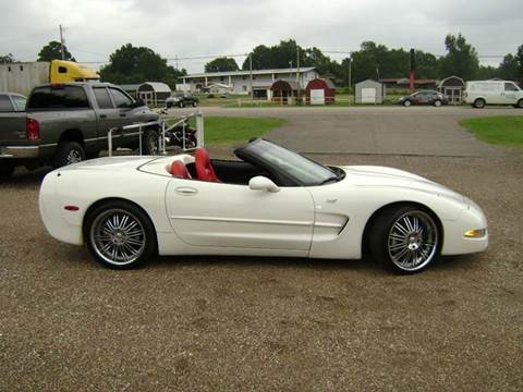 2003 Chevrolet Corvette for sale at Tom Boyd Motors in Texarkana TX