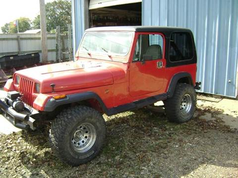 1990 Jeep Wrangler for sale at Tom Boyd Motors in Texarkana TX