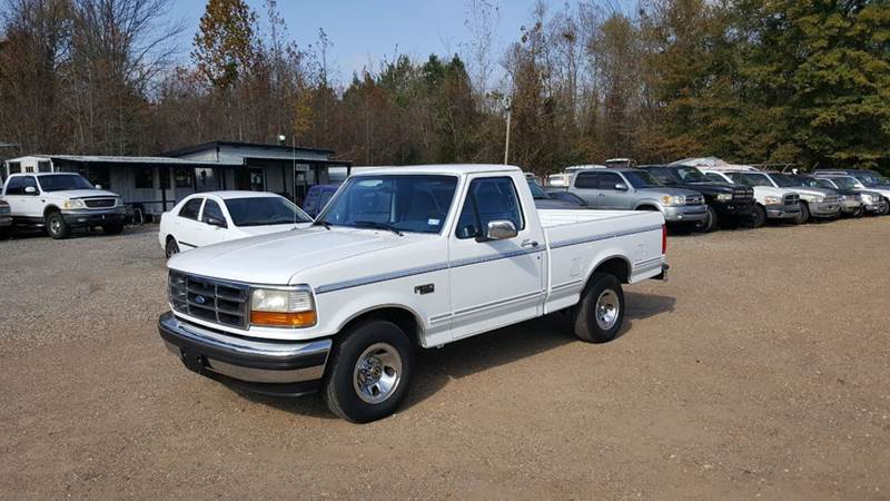 1995 Ford F-150 for sale at Tom Boyd Motors in Texarkana TX