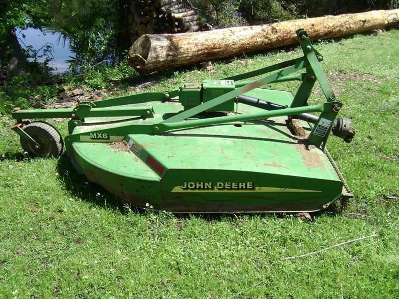 2010 John Deere MX-6 for sale at Tom Boyd Motors in Texarkana TX