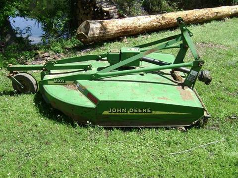 2010 John Deere MX-6 for sale at Tom Boyd Motors in Texarkana TX