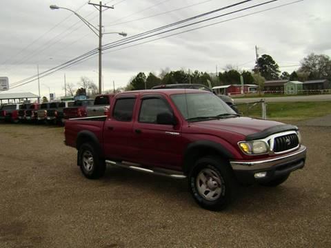 2003 Toyota Tacoma for sale at Tom Boyd Motors in Texarkana TX