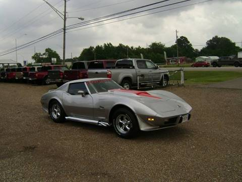 1976 Chevrolet Corvette for sale at Tom Boyd Motors in Texarkana TX