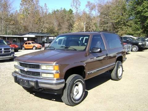 1994 Chevrolet Blazer for sale at Tom Boyd Motors in Texarkana TX