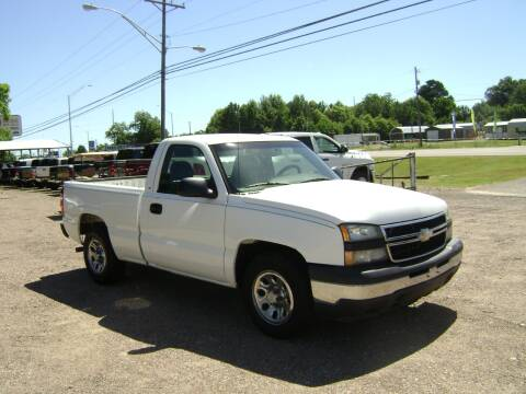 2006 Chevrolet Silverado 1500 for sale at Tom Boyd Motors in Texarkana TX