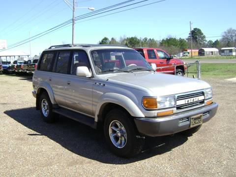 1994 Toyota Land Cruiser for sale at Tom Boyd Motors in Texarkana TX