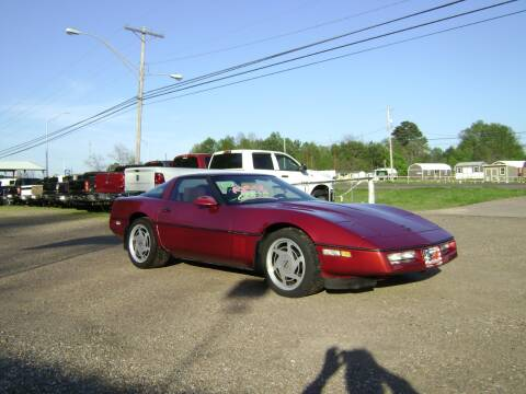 1989 Chevrolet Corvette for sale at Tom Boyd Motors in Texarkana TX