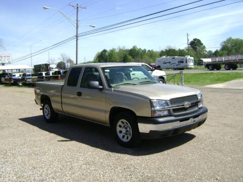 2005 Chevrolet Silverado 1500 for sale at Tom Boyd Motors in Texarkana TX