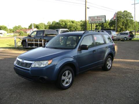 2010 Subaru Forester for sale at Tom Boyd Motors in Texarkana TX