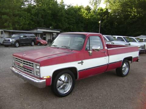 1985 Chevrolet C/K 10 Series for sale at Tom Boyd Motors in Texarkana TX