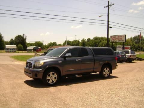 2008 Toyota Tundra for sale at Tom Boyd Motors in Texarkana TX