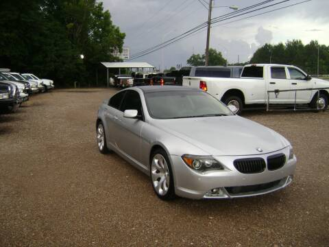 2005 BMW 6 Series for sale at Tom Boyd Motors in Texarkana TX