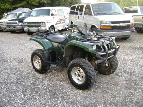 2005 Yamaha 660 grizzly for sale at Tom Boyd Motors in Texarkana TX