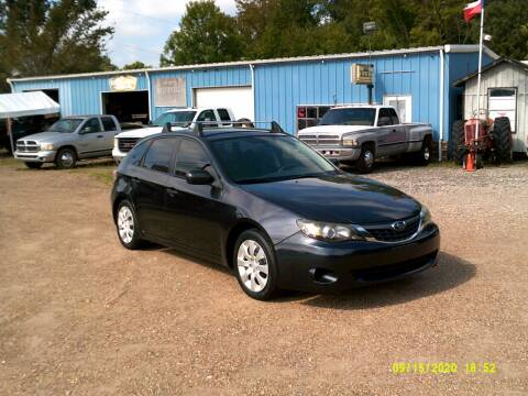 2008 Subaru Impreza for sale at Tom Boyd Motors in Texarkana TX