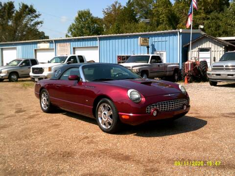 2004 Ford Thunderbird for sale at Tom Boyd Motors in Texarkana TX