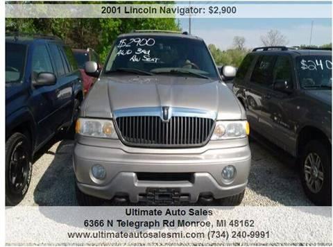 2001 Lincoln Navigator for sale in Monroe, MI