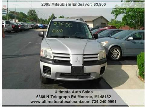 2005 Mitsubishi Endeavor for sale in Monroe, MI