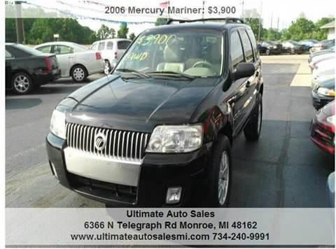 2006 Mercury Mariner for sale in Monroe, MI