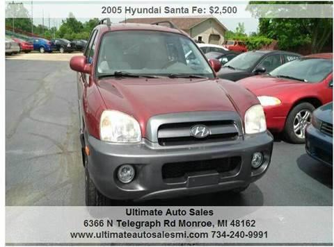 2005 Hyundai Santa Fe for sale in Monroe, MI