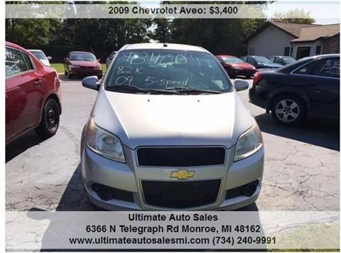 2009 Chevrolet Aveo for sale in Monroe, MI