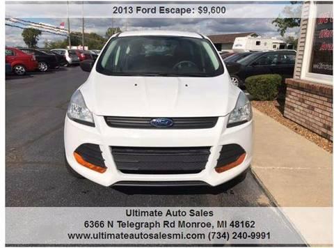 2013 Ford Escape for sale in Monroe, MI