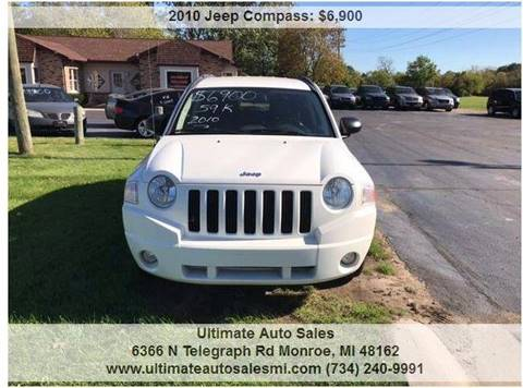 2010 Jeep Compass for sale in Monroe, MI