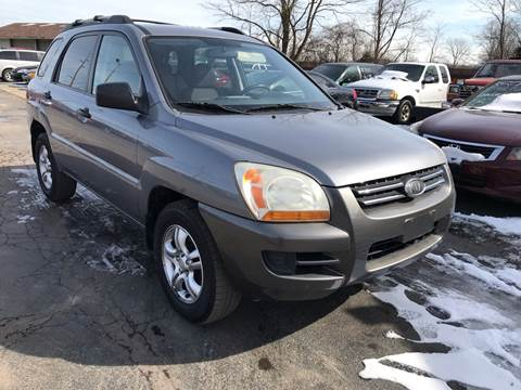 2008 Kia Sportage for sale in Monroe, MI