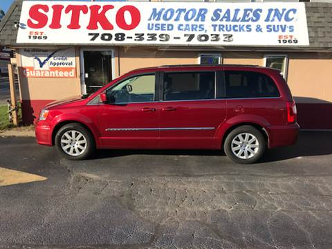 2011 Chrysler Town and Country for sale in Harvey, IL