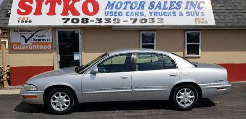 2002 Buick Park Avenue for sale at SITKO MOTOR SALES INC in Cedar Lake IN