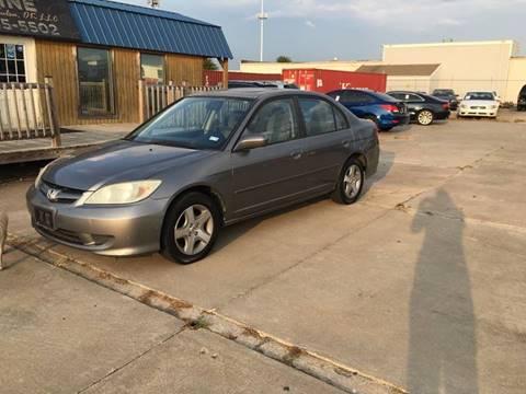2004 Honda Civic for sale in Tulsa, OK