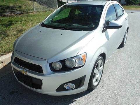 2012 Chevrolet Sonic for sale at TruckMax in N. Laurel MD