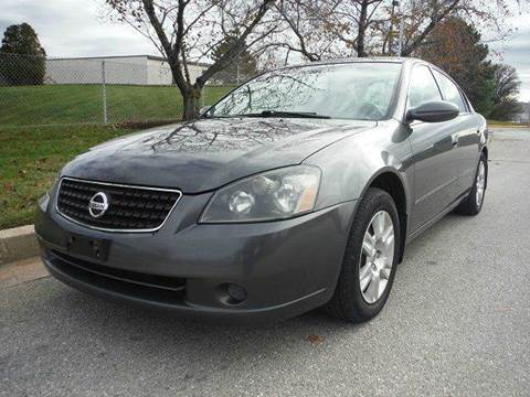 2006 Nissan Altima for sale at TruckMax in N. Laurel MD