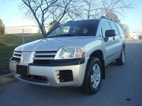 2005 Mitsubishi Endeavor for sale at TruckMax in N. Laurel MD
